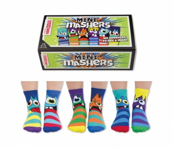 United Oddsocks - Childrens Mini Mashers Socks - Size 9-12