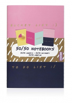 NPW Gifts SET OF 3 Rotating Novelty Notebooks