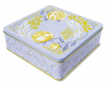 Wedding Keepsakes Storage Tin from Rachel Ellen