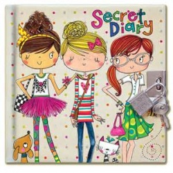 Rachel Ellen Friends Design Secret Locakble Diary