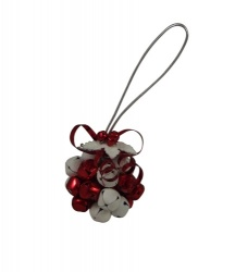 Gisela Graham Christmas Tree Decoration - Glitter Ball Wreath