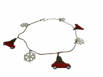Shoeless Joe Christmas Decoration Retro Car Garland