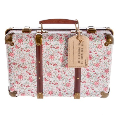 Sass And Belle Vintage Floral Decorative Suitcase