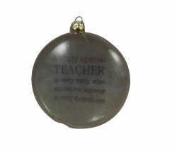 Heaven Sends Special Teacher Christmas Tree Bauble