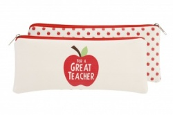 Retro Style Pencil Case Designed for a Great Teacher