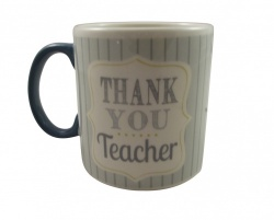 Gisela Graham Thank You Teacher Ceramic Gift Mug