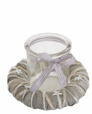 Tobs Christmas Wreath Jar Candle Holder Home Decoration