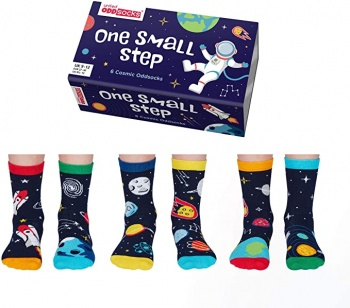 United Oddsocks One Small Step Children's Cosmic Socks