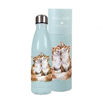 Wrendale Designs Country Animals Illustrated Water Bottles - Choice of Design