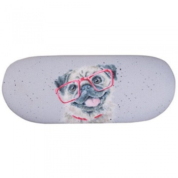 Wrendale Designs Pug Glasses Case