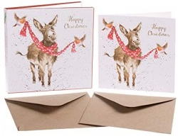 Wrendale Designs All Wrapped Up Christmas Card Set