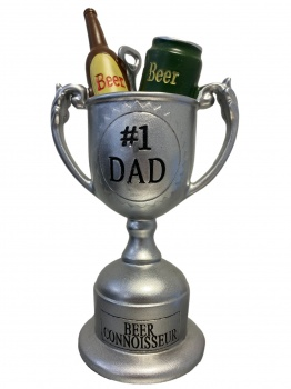 Widdop #1 Dad Beer Connoisseur Novelty Standing Trophy Gift