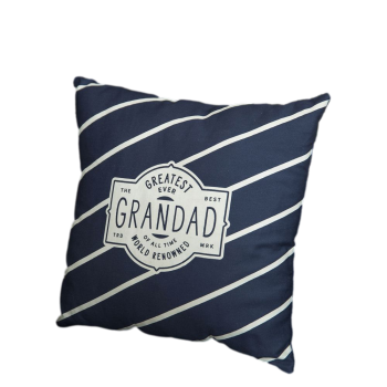 Widdop Greatest Grandad Ever Striped Cushion