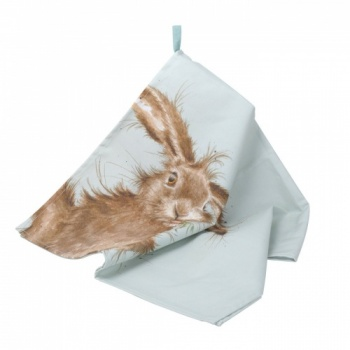 Wrendale Designs Hare Design Tea Towel