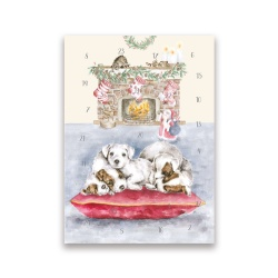 Wrendale Designs All I want for Christmas Advent Christmas Card