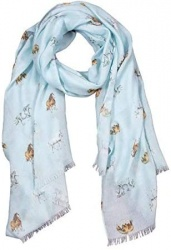 Wrendale Designs 'Feathers and Forelocks' Horse Scarf