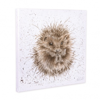 Wrendale Designs Awakening Hedgehog Large Canvas