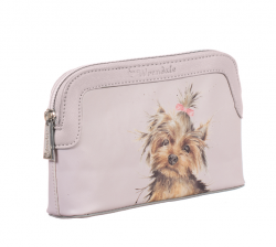 Wrendale Designs Small Yorkshire Terrier Design Cosmetic Bag