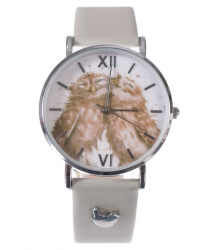 Wrendale Designs 'Birds Of A Feather' Leather Watch