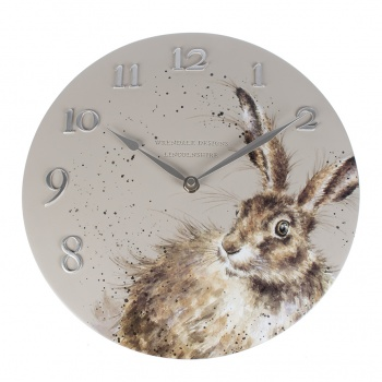 Wrendale Designs Wall Clock Hare Design