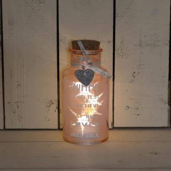 Messages Of Love Light Up Mummy Gift Jar