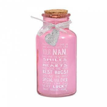 Messages Of Love Light Up Nan Gift Jar