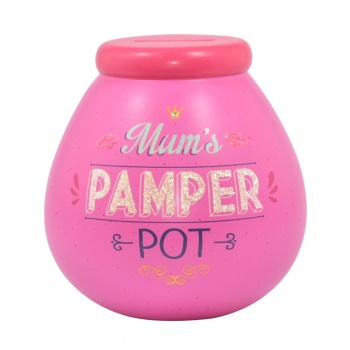 Pot Of Dreams Mum's Pamper Pot Breakable Money Pot