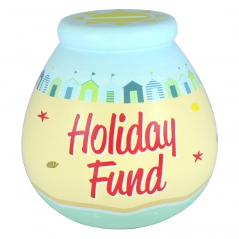 Pot Of Dreams Holiday Fund Breakable Money Pot
