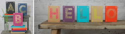 Monogram Kraft Notebooks - Choice of Letters