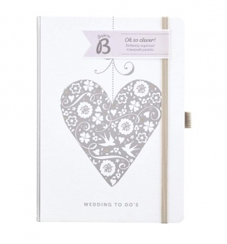 Busy B Wedding To Do's Wedding Planner with 4 Keepsake Pockets