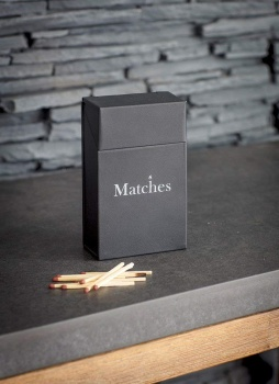 Garden Trading Steel Match Box Metal Holder