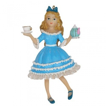 Gisela Graham Fairytale Alice In Wonderland Christmas Tree Decoration