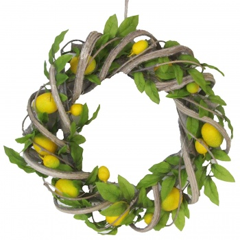 Gisela Graham Decorative Citrus Home Wreath