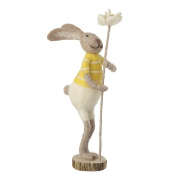 Heaven Sends Felt Standing Bunny Easter Decorations