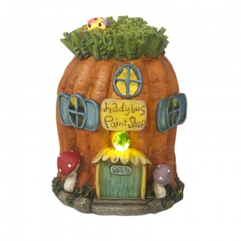 Heaven Sends Light Up Novelty Carrot House Home Decoration