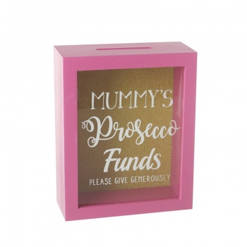 Heaven Sends Mummy's Prosecco Funds Money Box