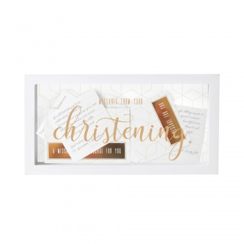 Messages from your Christening Message Box from Splosh Gifts
