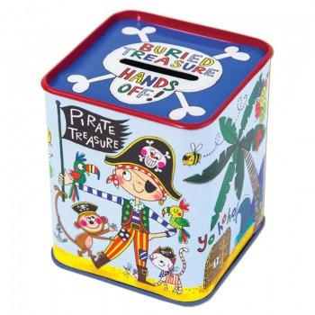 Rachel Ellen Childrens Buried Treasure Pirate Money Box