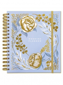Rachel Ellen Powder Blue Floral Design Wedding Planner