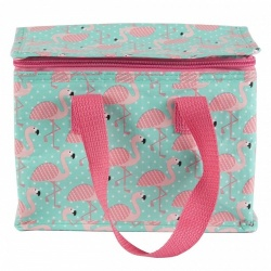 Sass And Belle Flamingo Design Insulated Lunch Bag