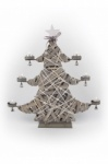 Tobs Wooden Star Tree T-Light Holder Christmas Decoration