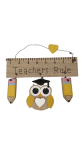 End Of Term Teachers Rule Hanging Plaque