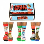 United Oddsocks Santa Banta Christmas Socks