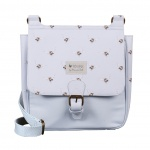 Wrendale Designs Powder Blue Bee Satchel Bag