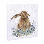 Wrendale Designs Bright Eyes Hare Canvas
