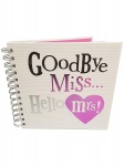 Bright Side Hen Night Goodbye Miss Hello Mrs Memory Book