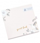 Busy B Wedding Guest Book With Message Cards