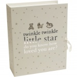 Twinkle Twinkle Baby Compartmental Keepsake Box