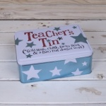 Bright Side Novelty Teachers Storage Tin