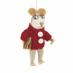 Felt So Good Charlie Mouse Christmas Tree Decoration